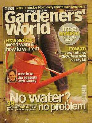 BBC - Gardeners' World, July 2006 – Weed Wars / Grow Your Own Beauty Kit / Water