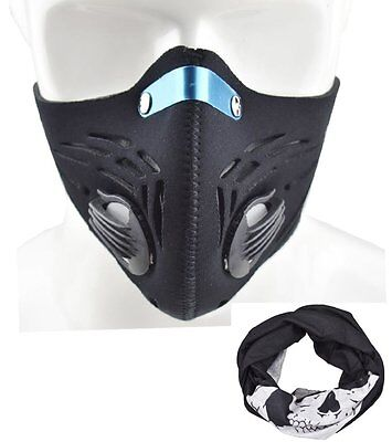 Dustproof Mask Filtration Exhaust Gas Anti Pollen Allergy Fitness Mask, Workout