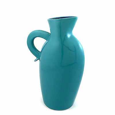 "LINDT STYMEIST * COLORWAYS * Turquoise & Blue * 10.5"" Pitcher 