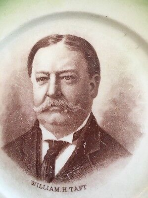 Sevres,Political, 1911 Plate of President Taft.   5.5 Inches, Transferware