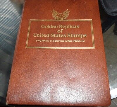 Golden Replicas of United States Stamps ( 34 ) First Day of Issue 22kt Gold
