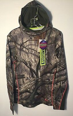 Under Armour Infrared Coldgear EVO Pullover Hoodie Camo NEW Womens Medium Fitted