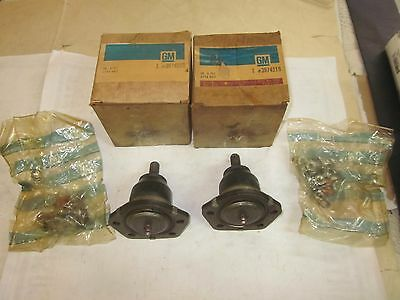 NOS GM 1963-70 Chevy GMC C10 2WD Truck Blazer Suburban Upper Ball Joints 3974319