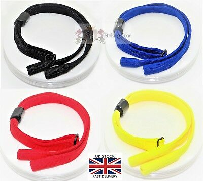 Glasses Retainer Cord Chain Strap - Sports Pipe End Design *4 Colours*UK