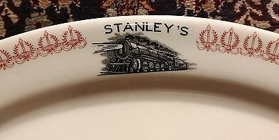 Stanley's Texas and Pacific Railroad Restaurant Platter 1940s