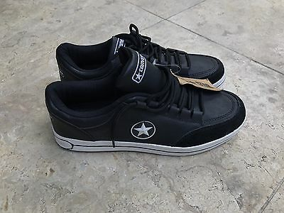 Converse Shoes Black All Star Unisex Low-Top Casual Sneaker Shoes size 42