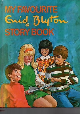 Vintage My Favourite Enid Blyton Story Book - illustrated