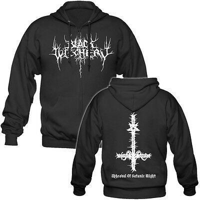 Black Witchery - Hooded Zipper / Kapuzenjacke, Archgoat, Conqueror