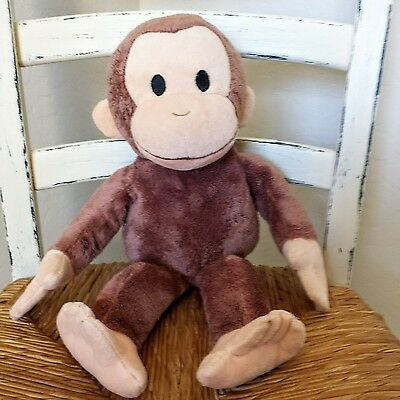 "Kohl's Cares Curious George Plush 15"" Monkey Stuffed Animal EUC"