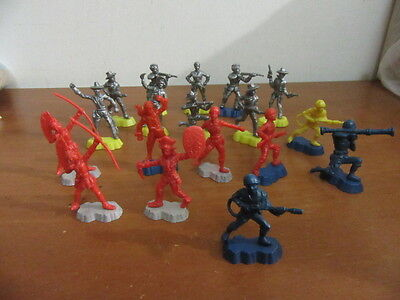 Soldatini Toy Soldiers Politoys  in plastica mm 55 - Texas Cowboys 18 pz.