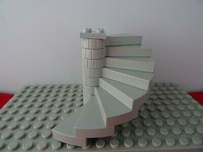 Lego 32 Steps Grey Spiral Stairs GMT43 40243