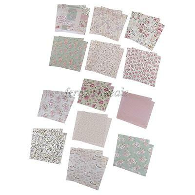 24 Sheets 15cm Scrapbooking Paper Background Paper for DIY Photo Album