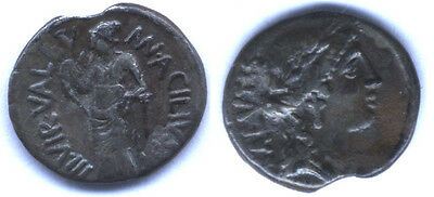 Rare Old Collection of 29 Ancient Roman and Bactrian Coins