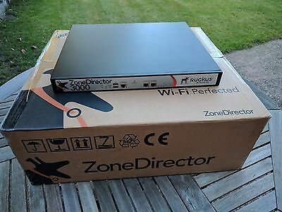 Ruckus Zone Director 3000 ZD3000 Wireless AP Controller with 100 AP Licences