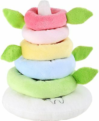 Lotta rainbow stacking tower baby toddler soft toy early development gift