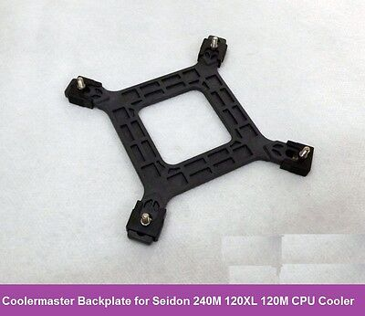 Heatsink Backplate for Coolermaster Seidon 240M 120XL 120M Cooler Intel Socket