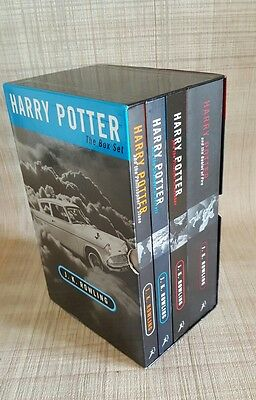 Harry Potter - The Box Set - Books 1-4 - Adult Editions