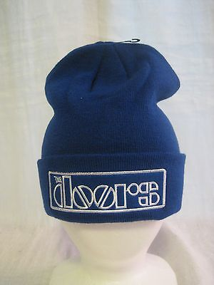 The Doors Beanie Knit Cap Hat Headwear Music Jim Morrison Band Apparel New BR102