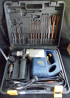 Ex-hoarder Sale Will Post  GMC All 3-Mode Rotary Hammer Drill Kit w/Bits  Rare!!