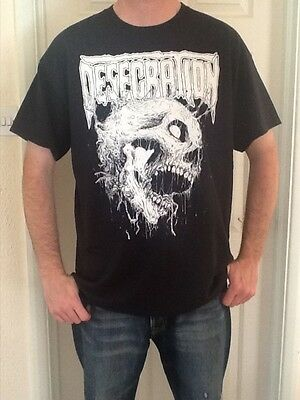 Desecration T Shirt Death Metal Ingested Livitidy Meatshits Deicide Nile