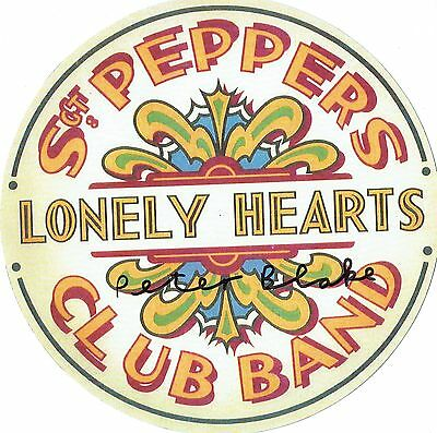 The Beatles Sgt Peppers Lonely Heart Club Band Signed by Peter Blake.