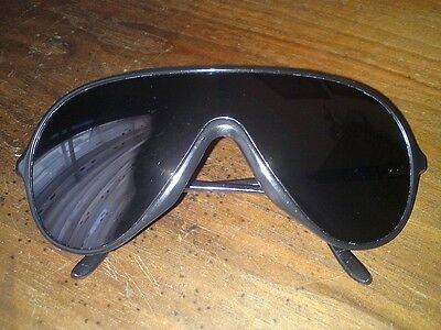 Vintage Bausch & Lomb (Ray Ban) Wings Nylon France Black sunglasses