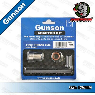 Gunson G4055D 14mm Long Reach Adaptor Kit for Colortune & Compression Testers
