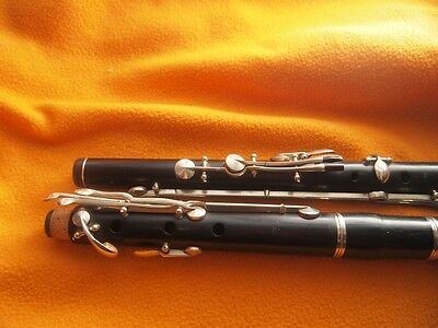 Vintage western concert flute MEYER system XIX century after OVERHAUL