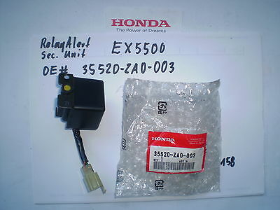 Honda Relay Alert Safety Unit 35520-ZA0-003 fits Generator EL5000 EX5500 ES6500