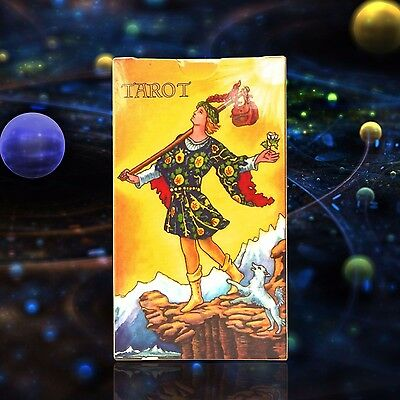 Tarot Deck Cards Card New Complete Vintage Book Waite 78 Rider Sealed Box Set