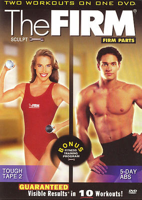 THE FIRM ~ TOUGH TAPE 2 / 5-DAY ABS ~ 2 WORKOUTS ON 1 DVD new