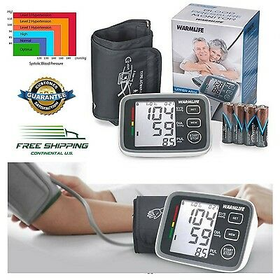 Upper Arm Cuff Blood Pressure Monitor Digital Professional Automatic FDA Approve