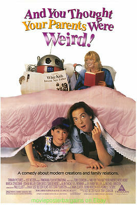 And You Thought Your Parents Were Weird Original Rolled Movie Poster Alan Thicke