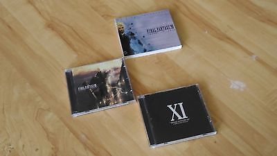 FINAL FANTASY VII 7 seven Advent Children SOUNDTRACK cd SLIPCOVER XI unreleased