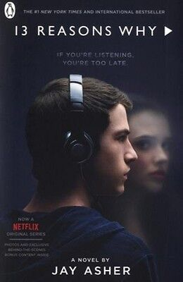13 Thirteen Reasons Why TV Tie In NEW Paperback Book Jay Asher Novel 0141387772
