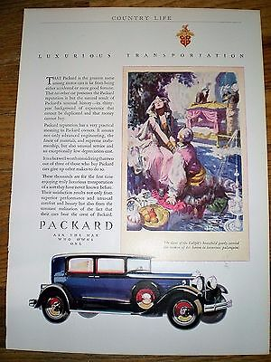1930 Print Ad ~ PACKARD AUTOMOBILE ~ ASK THE MAN WHO OWNS ONE