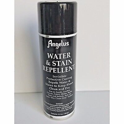 Angelus Water and stain Repellent Shoe Waterproofer fabric hat jackets Clear