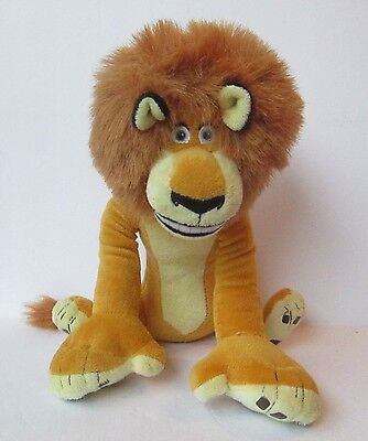 "Alex Lion Madagascar Live 10"" Plush Doll"