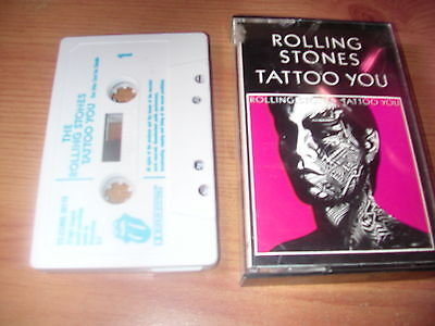 Rolling Stones   Tattoo You    Cassette