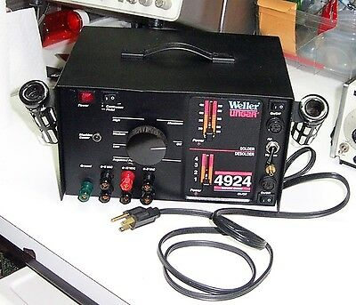 Weller / Ungar 4924-0 Rework Station, Soldering Desoldering Machine Center Motor