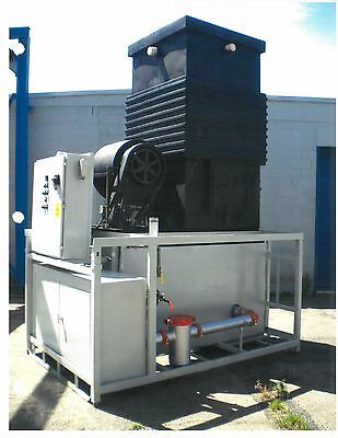 Cooling Tower, Pumps and Reservoir System 50 ton