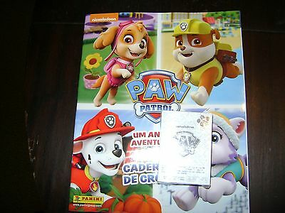 Panini - Paw Patrol 2 Empty Album + Complete Set Stickers