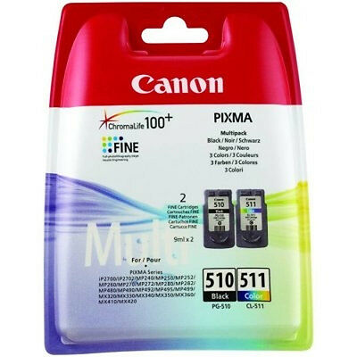 CANON Cartucho MultiPack PG-510/CL511