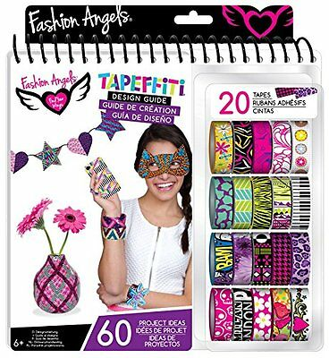 Fashion Angels 20732 Tapeffiti Design Guide Mach Dir World Colourful Decorative