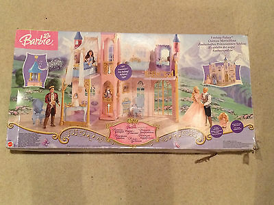 BARBIE Princess Fantasy Palace Castle Good Used Condition