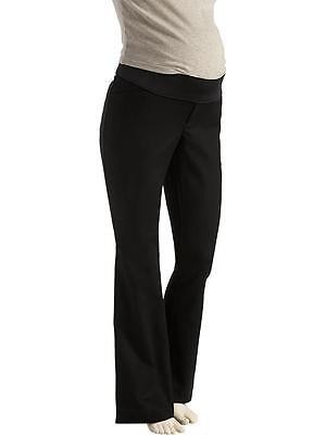 Women Old Navy Maternity Black Demi dress pants career Size 6 NWT Free Shipping