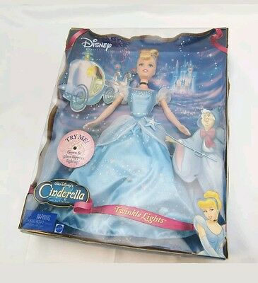 Cinderella Special Edition Doll Twinkle Lights - New 2004 barbie