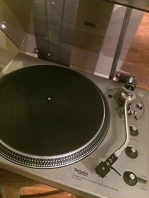 Vintage WORKING Technics SL-1300 Direct Drive Turntable with Audio Technica