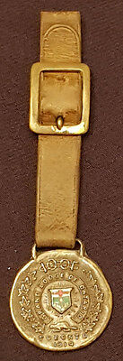 1914 - Vintage - Grand Lodge Of Ontario - 100F - Watch Fob - Original