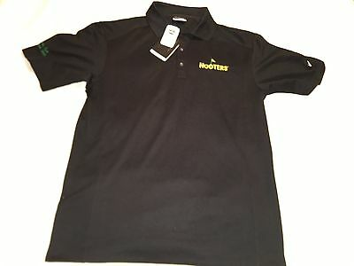 NIKE Golf Dry Fit Size Small Men's Augusta GA Golf Week 2009 HOOTERS New W/Tags